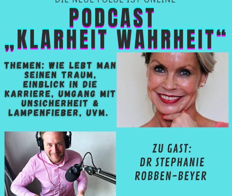 Klarheit, Wahrheit – Podcast: Stephanie Robben-Beyer zu Gast bei Fabian Wirth
